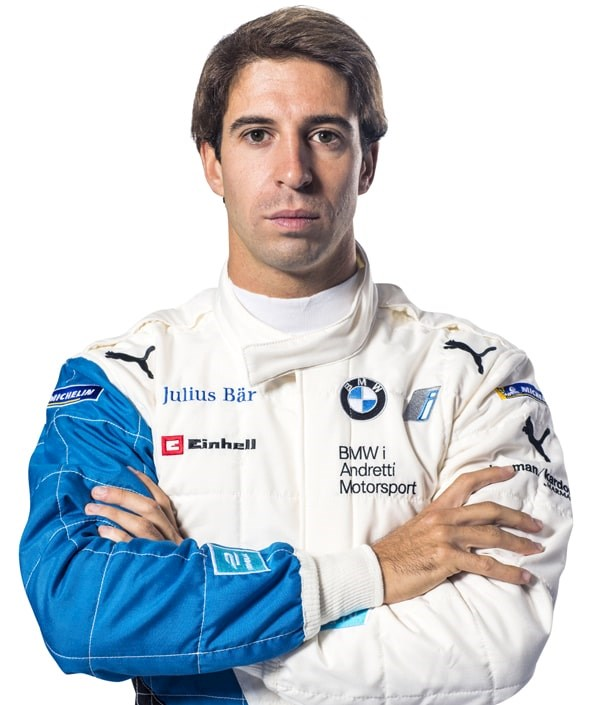 front profile image of racing driver Antonio Felix Da Costa