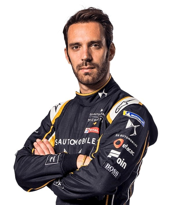profile image of Formula E racing driver Jean Eric Vergne