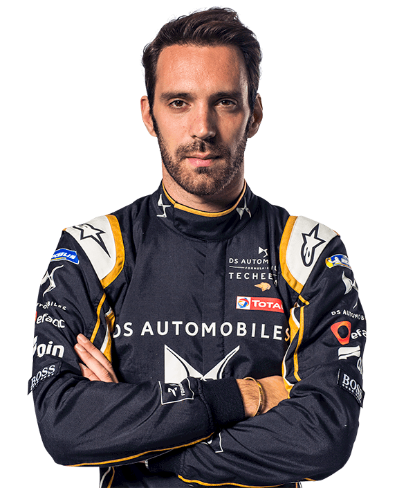 front profile image of racing driver Jean-Eric Vergne