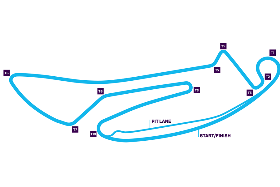 map of the Berlin E-Prix track