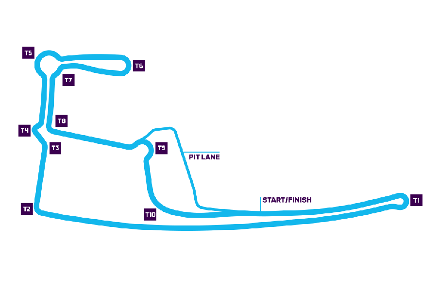 Hong Kong track map