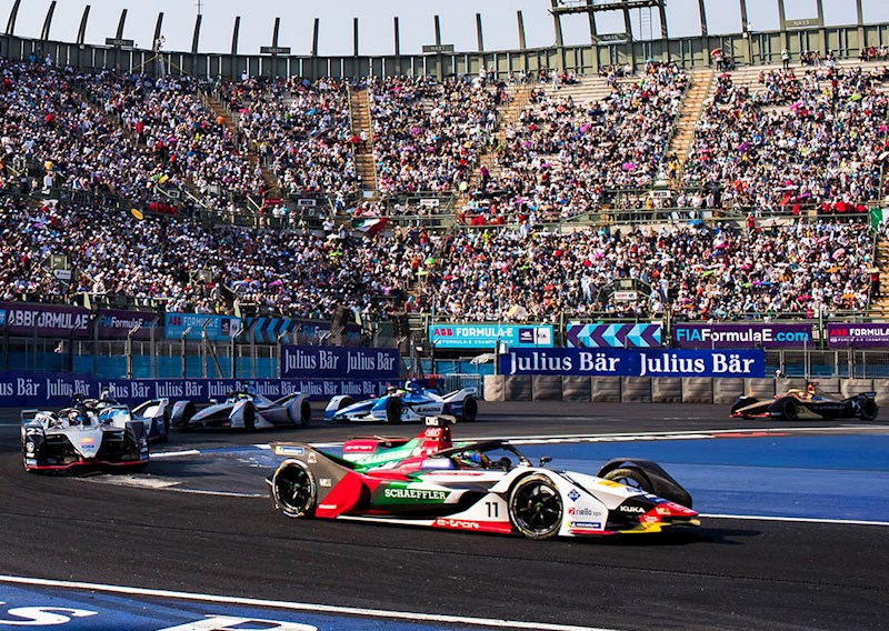 Di Grassi Mexico City stadium