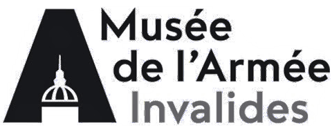 black logo of the Musee de l'Armee Invalides