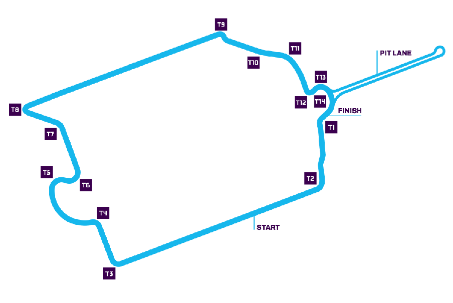 Paris track map