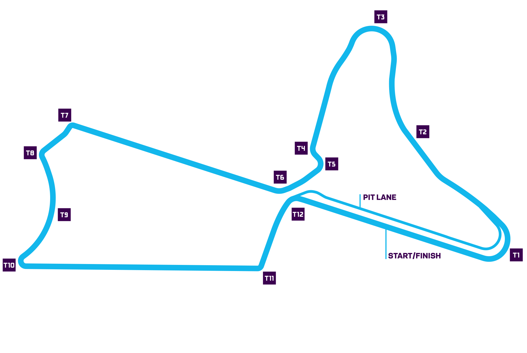 Marrakesh E-Prix track map