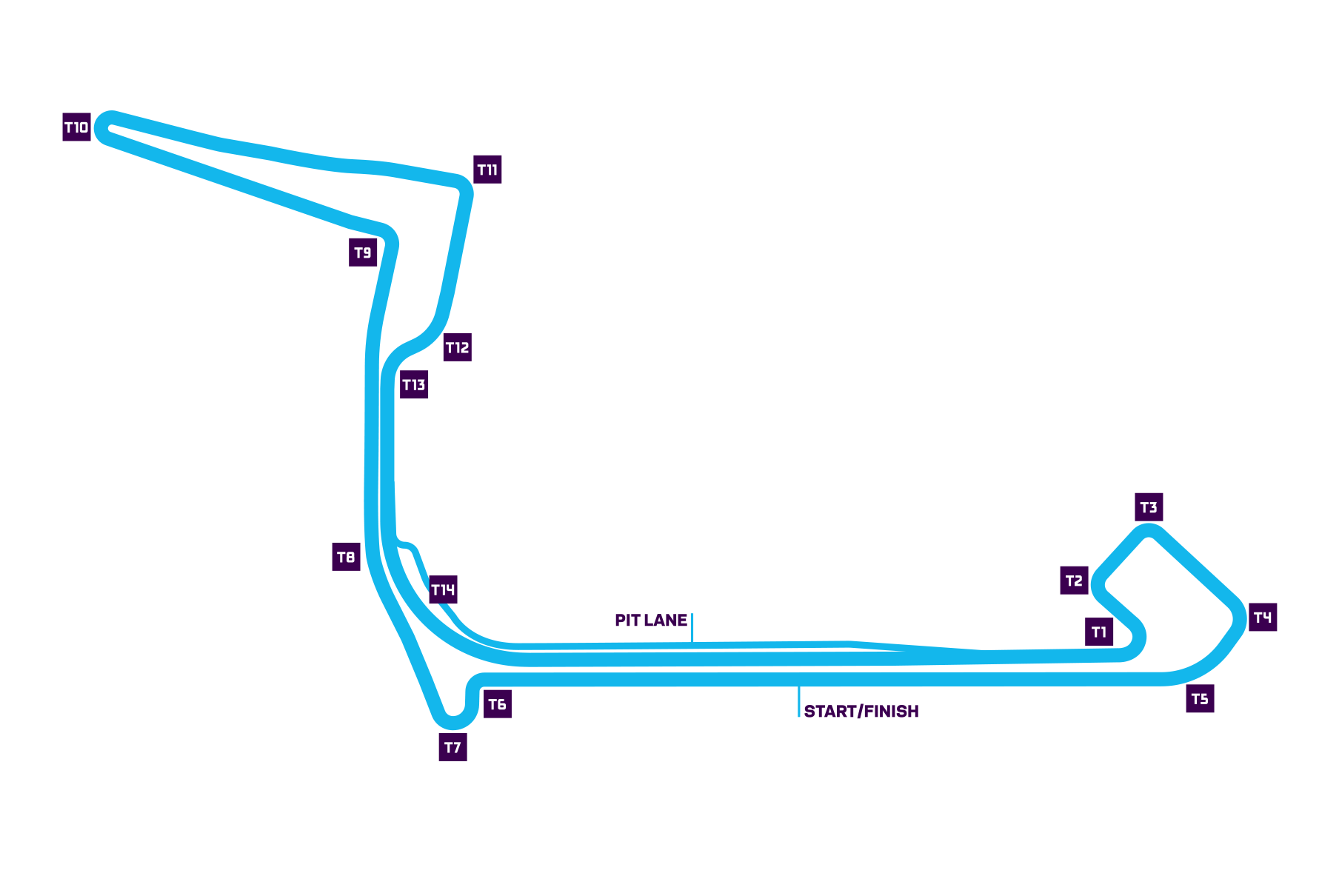 New York City E-Prix track map
