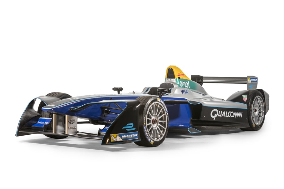 a Formula E Generation 1 racing car