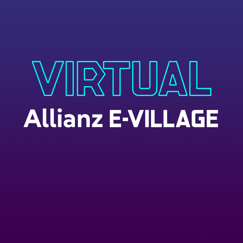 Virtual Allianz E-Village logo