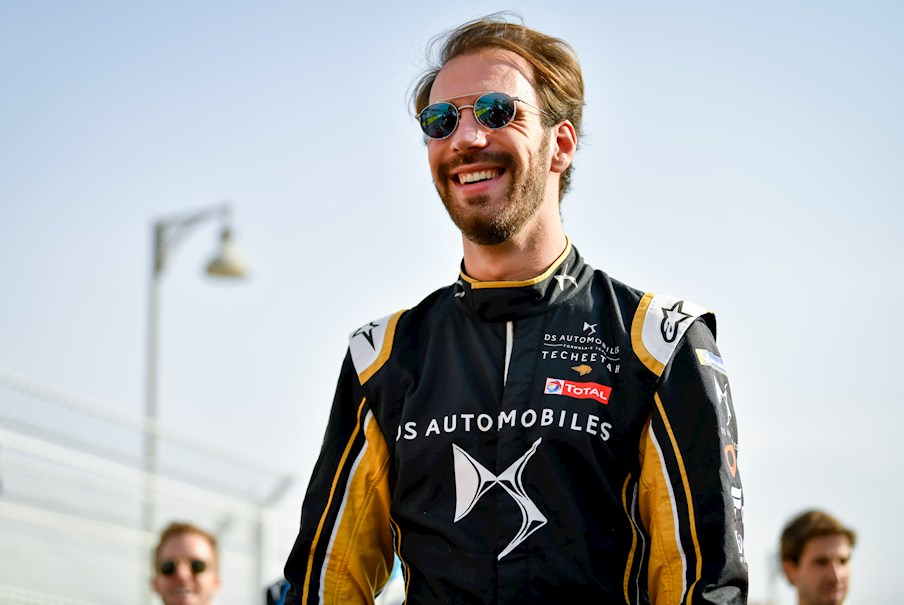 Jean-Eric Vergne in Saudia Arabia