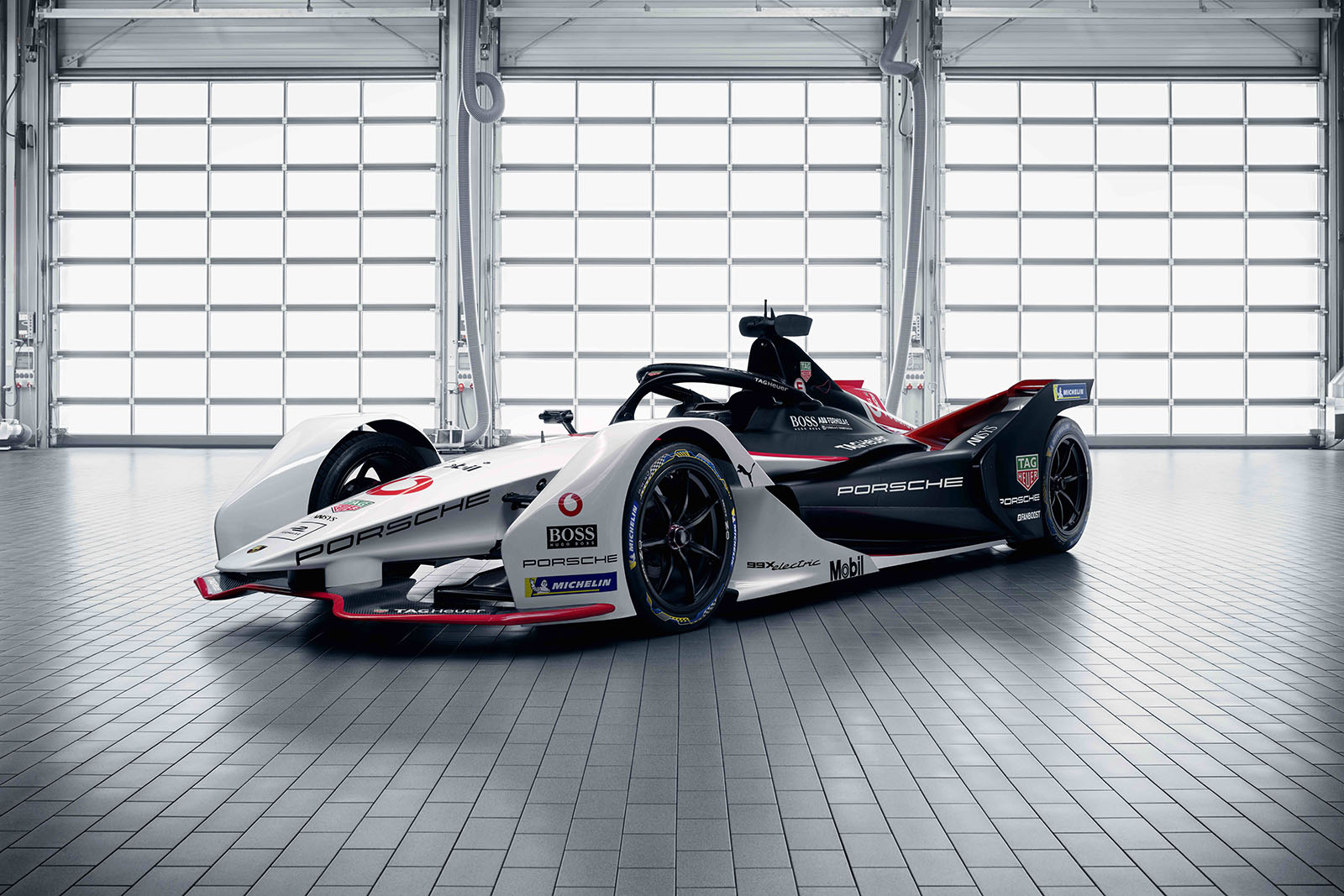 Porsche 99X Electric formula e race car