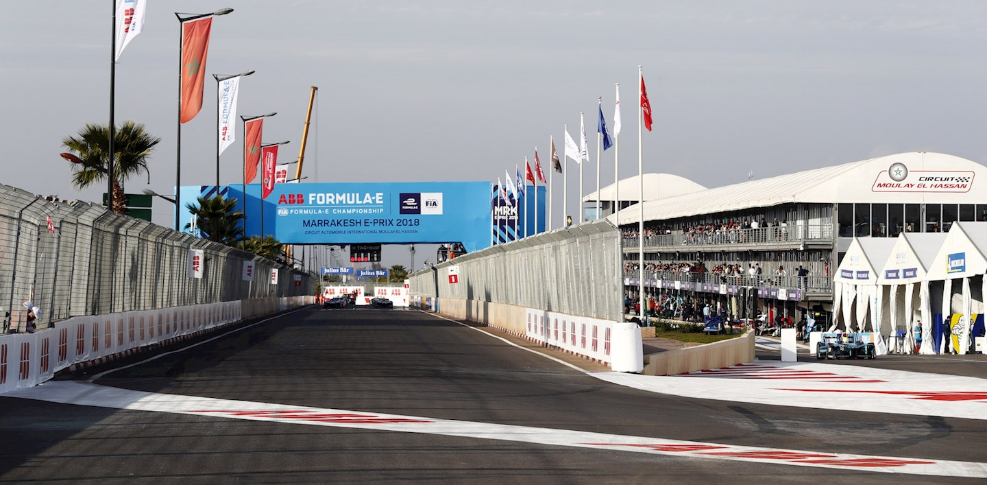 formula e track in marrakesh