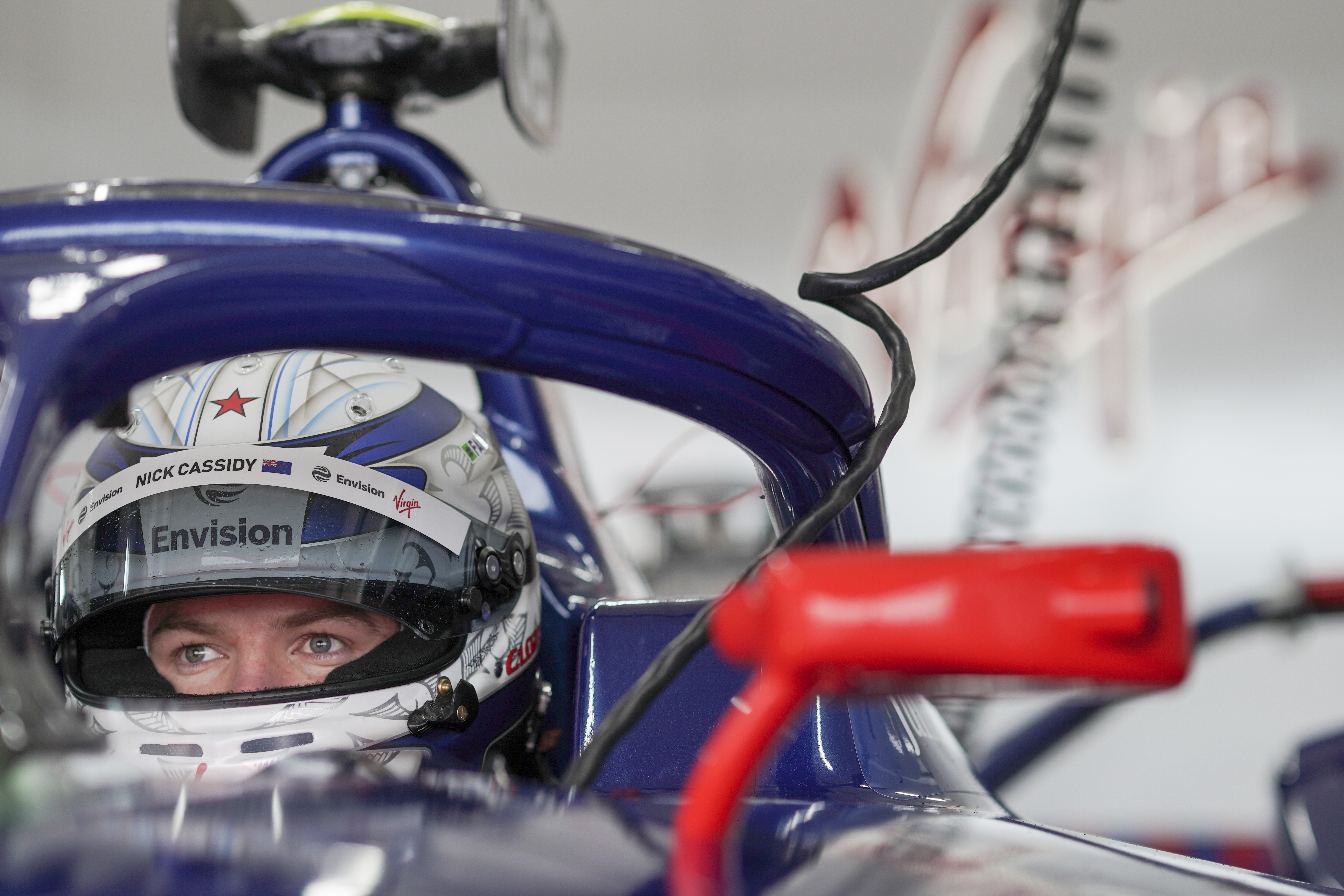 Nick Cassidy Envision Virgin Racing Formula E Valencia test