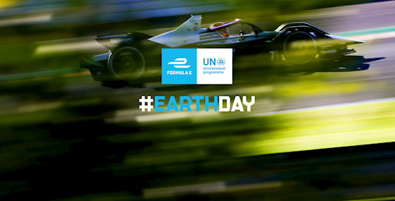 Formula E UNEP Earth Day