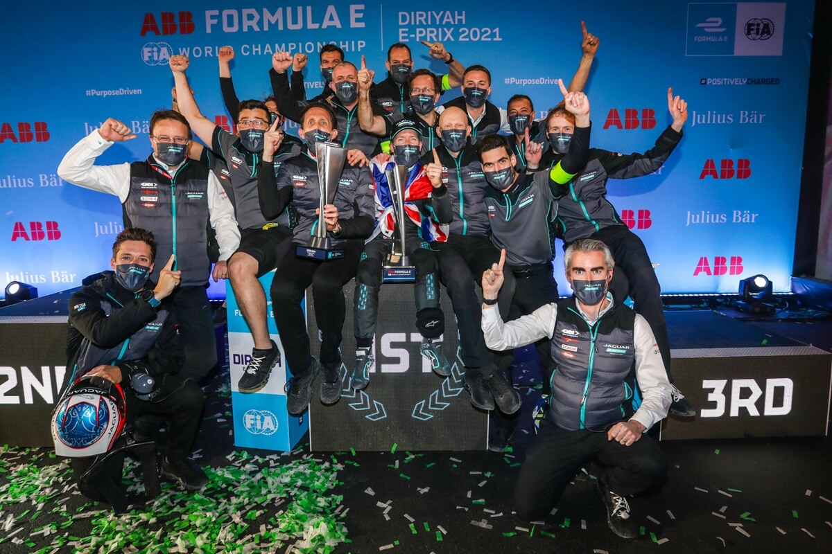 Jaguar Racing Diriryah Celebrations